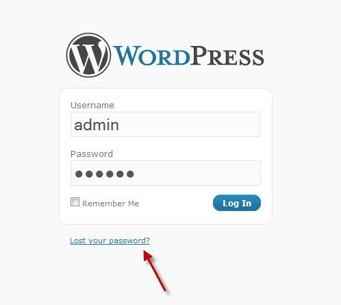 Login for WordPress blogs
